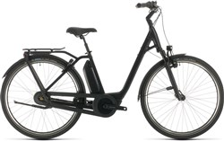 Product image for Cube Export Town Hybrid EXC 500 Easy Entry Black Edition - Nearly New - 46cm 2021 - Electric Hybrid Bike
