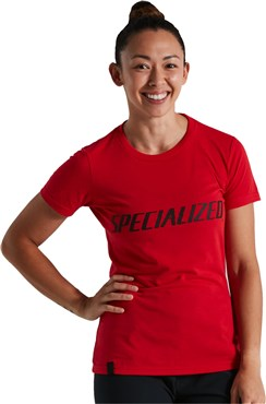 Specialized Wordmark Womens Short Sleeve Tee