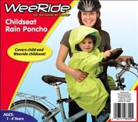 WeeRide Rain Weather Baby Child Bike Seat Poncho