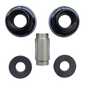 Fox Racing Shox Mounting Hardware Roller Full Complement 30mm Wide 8mm Diameter