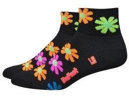 "Defeet Aireator Womens Flower Power 2"" Socks"