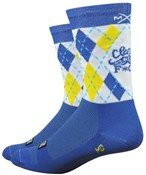 """Product image for Defeet Moxy + Grit by Sonya Looney Aireator 6"""" Socks"""