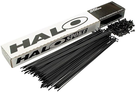 Halo ED Plain Gauge Spoke 14g Workshop Pack - Box of 100