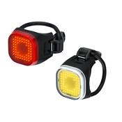 Knog Blinder Mini Square USB Rechargeable Light Set