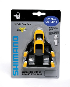 Shimano SM-SH11 SPD-SL Cleat with 6 Degree Float