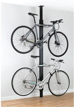 Gear Up BUA Aluminium Floor-to-Ceiling 2 To 4-bike Rack