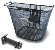 Basil Basimply EC Front Oval Steel Basket (Plus BAS Easy Stem Holder)