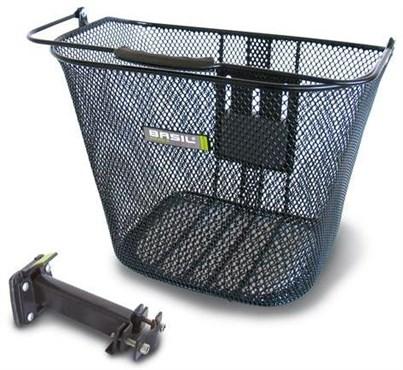 Basil Basimply EC Front Oval Steel Basket (Plus BAS Easy Stem Holder) | Frempinde