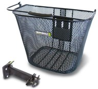 Basil Basimply EC Front Oval Steel Basket (Plus BAS Easy Stem Holder)