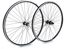 "Tru-Build 26"" Front MTB Wheel Mach1 MX26 Rim Double Wall 36H QR CNC Sidewalls"