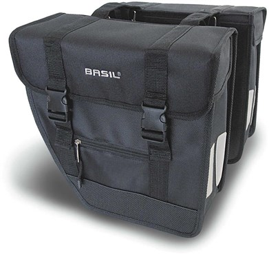Basil Tour Rear Briefcase Heavy Duty Double Pannier Bags