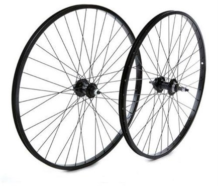 "Tru-Build 26"" Front MTB Disc Wheel Alloy Single Wall Rim 36H Hub"