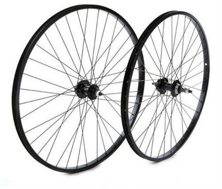 "Tru-Build 26"" Front MTB Disc Wheel Alloy Single Wall Rim 36H Hub"