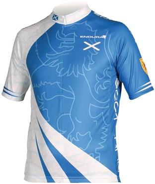 Endura CoolMax Printed Scotland Short Sleeve Cycling Jersey SS16