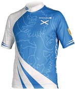 Product image for Endura CoolMax Printed Scotland Short Sleeve Cycling Jersey SS16