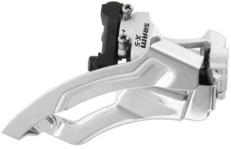 SRAM X5 Dual Pull Low Clamp Front Derailleur
