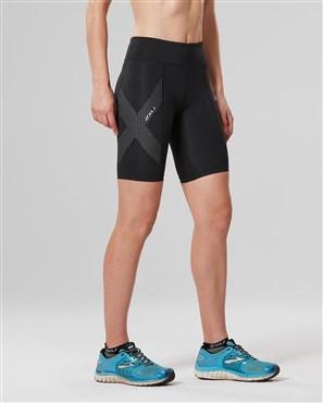 2XU Mid-Rise Womens Compression Shorts | Compression