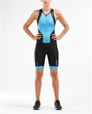 2XU Perform Front Zip Womens Trisuit | swim equipment