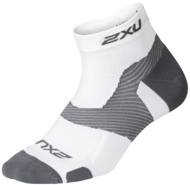 2XU Vectr Light Cush 1/4 Crew Sock | Strømper