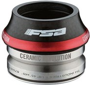 Product image for FSA Orbit CF Ceramic Bearing Carbon Fibre Road Integrated Headset