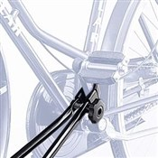 Peruzzo Uni-Bike Crank Arm Roof Fitting 1 Bike Car Carrier / Rack