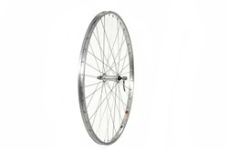 Tru-Build 700c Trekking Front Wheel Alloy Hub Single Wall Rim QR