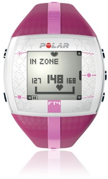 Polar FT4 Womens Heart Rate Monitor Computer Watch