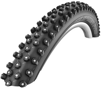 """Schwalbe Ice Spiker Pro LiteSkin Winter Folding 26"""" MTB Tyre"""