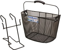 Oxford Black Mesh Basket With Bracket
