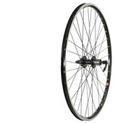 Product image for Tru-Build 700c Rear Trekking Disc Wheel 8/9spd Cassette QR Hub