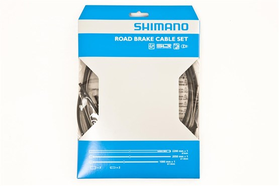 Shimano Road Brake Cable Set with Stainless Steel Inner Wire