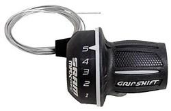 SRAM MRX Twist Shifter - 7 SpeedRear 2:1 fits Shimano