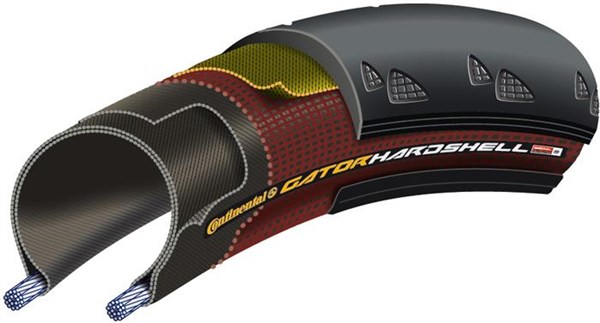 Continental Gator Hardshell Duraskin 700c Road Tyre
