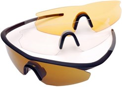 Madison D Arcs Triple Lens Set Cycling Glasses 2018