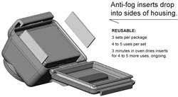 GoPro Anti Fog Inserts