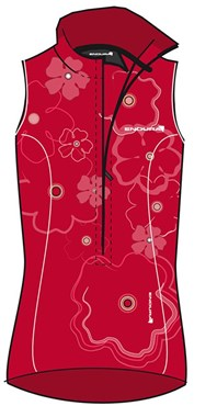 Endura Geranium Womens Sleeveless Cycling Jersey 2013