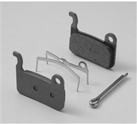 Product image for Shimano M07TI Titanium Backed Disc Brake Pads and Spring