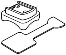 Cateye Strada Wireless Bracket and Rubber Pad