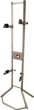 Gear Up Platinum Steel 2-Bike Freestanding Rack
