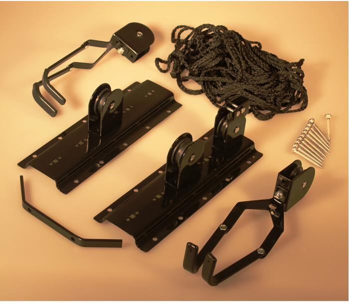 Gear Up Up-and-Away Hoist System (50 lb capacity)   bike_storage_hanger_component