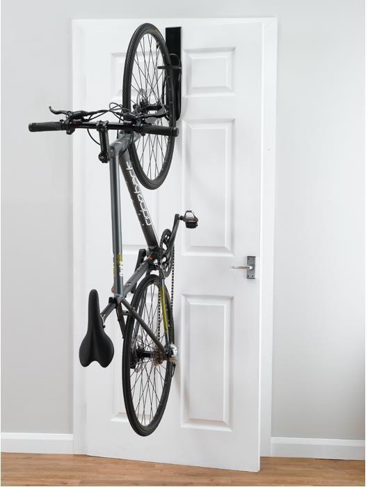 Gear Up Off-The-Door Single Bike Vertical Rack   bike_storage_hanger_component