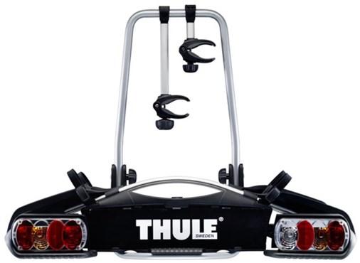 Thule 921 Euroway G2 2-bike Towball 7-pin With UK Foglights