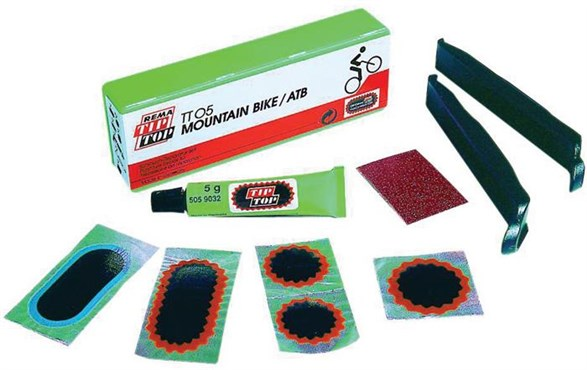 Rema Tip Top TT05 MTB Puncture Repair Kit | Lappegrej og dækjern