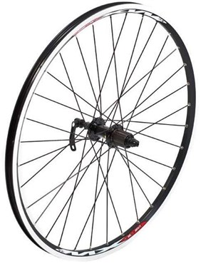"Tru-Build 26"" MTB Front Wheel Mach1 MX Double Wall Rim QR"