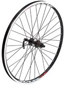 "Tru-Build 26"" MTB Front Wheel Mach1 MX Double Wall Rim QR"
