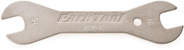 Park Tool DCW2C Double-ended Cone Wrench: 15mm / 16 mm