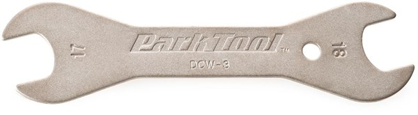 Park Tool DCW3C Double-ended Cone Wrench: 17mm / 18 mm