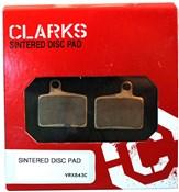 Clarks Sintered Disc Brake Pads w/Carbon for Hayes Sroker Ryde