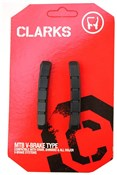 Clarks MTB/Hybrid V-Brake Pads Replacement Insert Pads