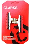 Clarks MTB/Hybrid V-Brake Pads XTR Upgrade Threaded Type + Extra Pads